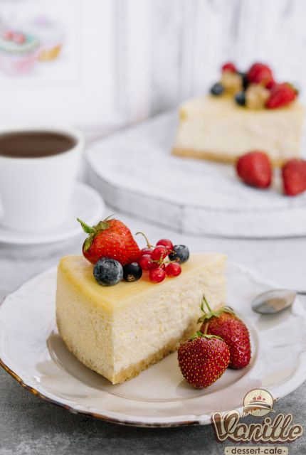 Cream cheesecake